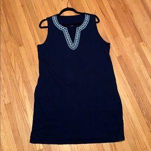 Lands' End dress/coverup, size L